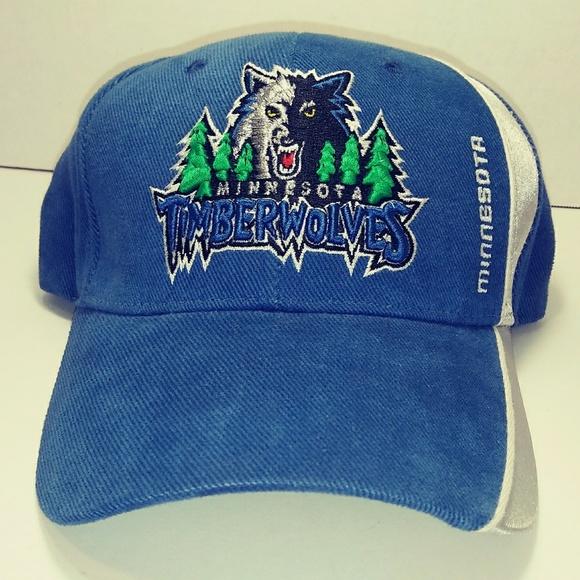 b822e73c174bf NBA Minnesota Timberwolves Adjustable Hat